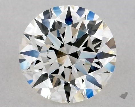 0.71 Carat H-VS2 Excellent Cut Round Diamond