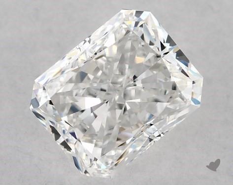 1.01 Carat E-VS1 Radiant Cut Diamond