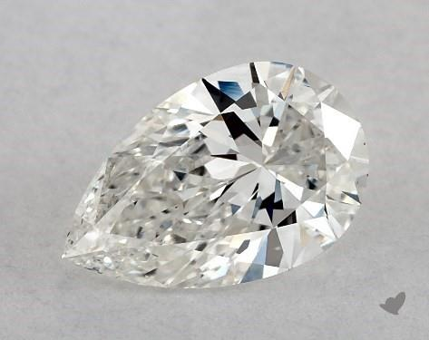 0.75 Carat H-VS2 Pear Shape Diamond