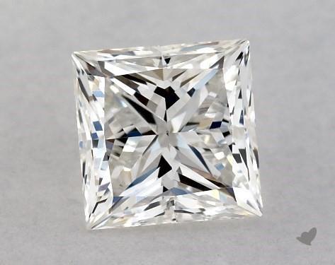 0.80 Carat H-VS2 Ideal Cut Princess Diamond