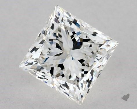 0.82 Carat H-VS2 Ideal Cut Princess Diamond