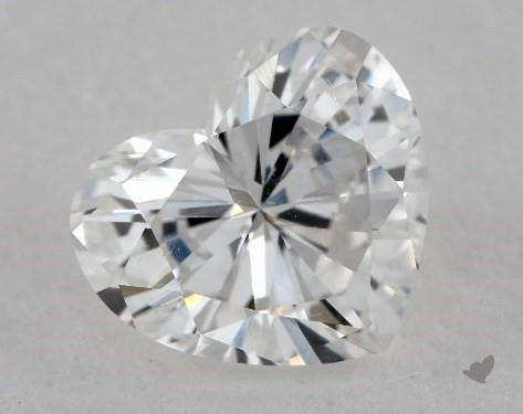 0.79 Carat E-VS2 Heart Shape Diamond