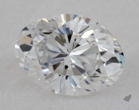 0.40 Carat D-SI1 Oval Cut Diamond