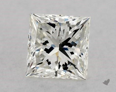 0.50 Carat I-SI1 Very Good Cut Princess Diamond