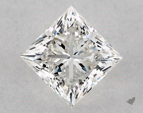 0.71 Carat H-VS2 Ideal Cut Princess Diamond