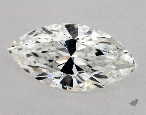 0.74 Carat H-SI1 Marquise Cut Diamond