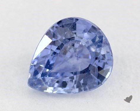 1.01 carat Pear Natural Blue Sapphire