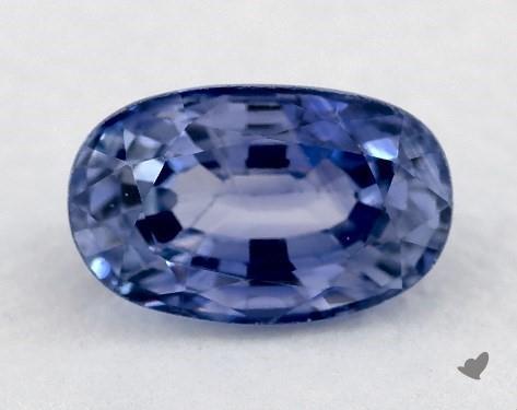 1.03 carat Oval Natural Blue Sapphire