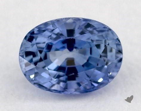 1.05 carat Oval Natural Blue Sapphire