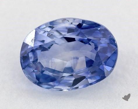 1.10 carat Oval Natural Blue Sapphire