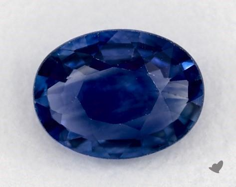 0.99 carat Oval Natural Blue Sapphire