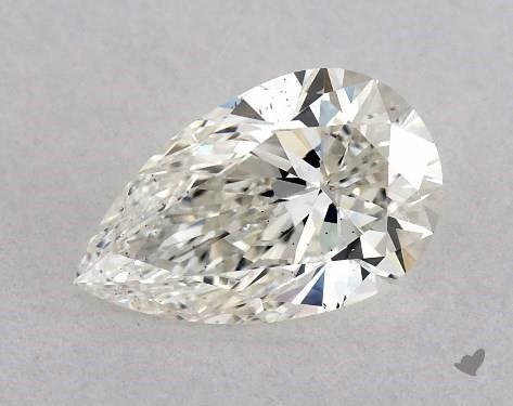 0.71 Carat H-VS2 Pear Shape Diamond