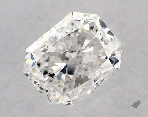 1.00 Carat F-SI1 Radiant Cut Diamond