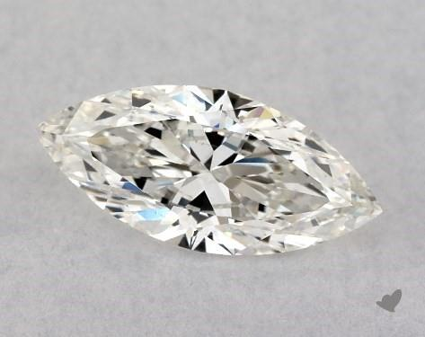 0.70 Carat H-SI1 Marquise Cut Diamond