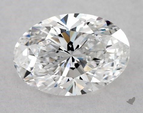 0.80 Carat D-VS2 Oval Cut Diamond