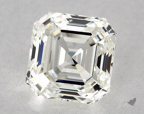 0.96 Carat I-VS1 Square Emerald Cut Diamond