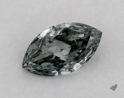 0.50 Carat FANCY  GRAY-I1 Marquise Cut Diamond