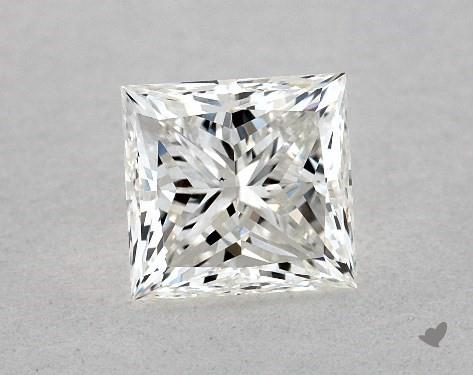0.80 Carat H-VS2 Ideal Cut Princess Diamond
