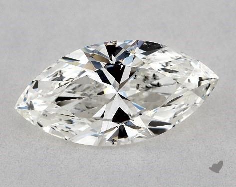 1.50 Carat H-SI1 Marquise Cut Diamond