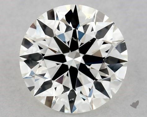 1.05 Carat I-SI1 Excellent Cut Round Diamond
