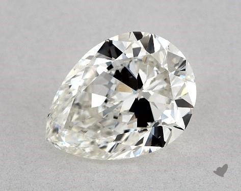 1.23 Carat H-VS2 Pear Shape Diamond