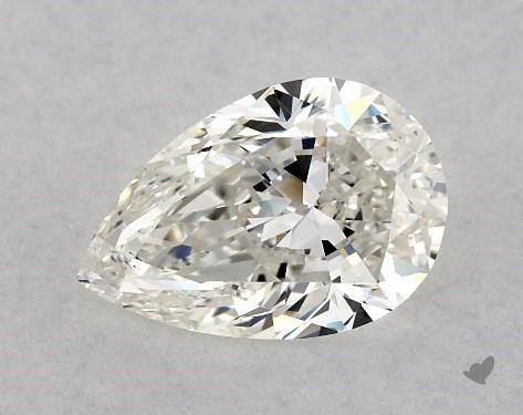 1.31 Carat H-VS2 Pear Shape Diamond