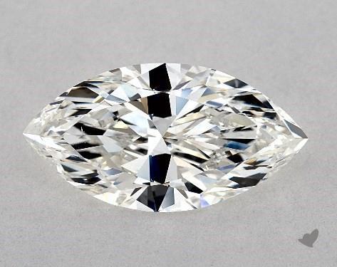 3.02 Carat H-VS2 Marquise Cut Diamond