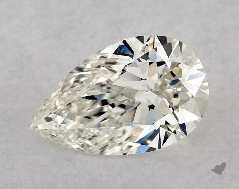 1.02 Carat H-VS2 Pear Shape Diamond
