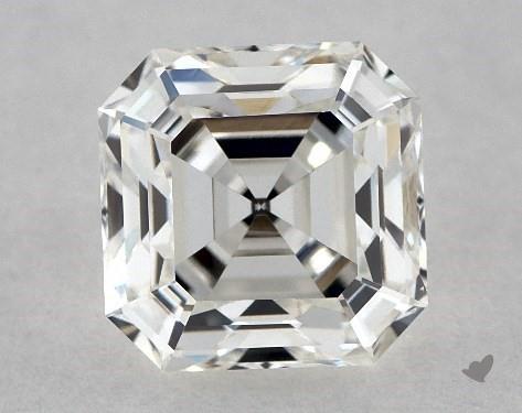 1.11 Carat H-VS1 Asscher Cut Diamond