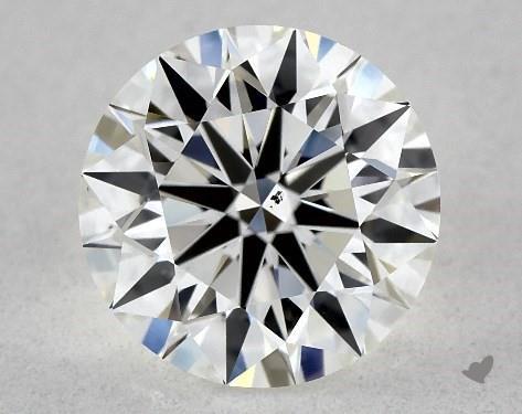 1.21 Carat I-SI1 Excellent Cut Round Diamond