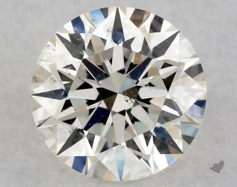 0.35 Carat K-SI2 Excellent Cut Round Diamond