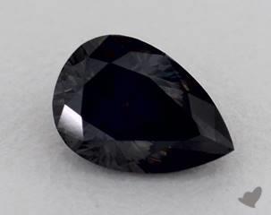 pear0.71 Carat Black
