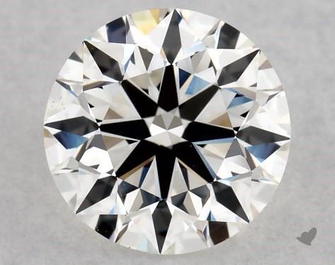 1.01 Carat H-VS2 Excellent Cut Round Diamond