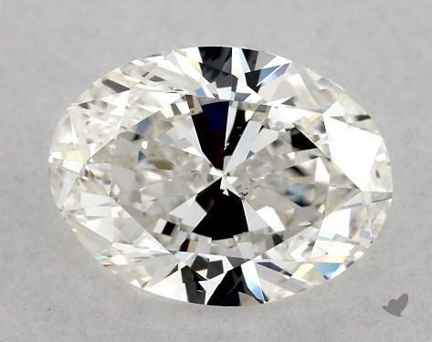 1.20 Carat H-VS2 Oval Cut Diamond