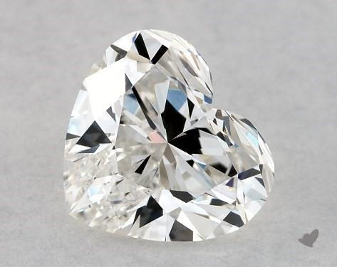 1.04 Carat H-VS2 Heart Shape Diamond