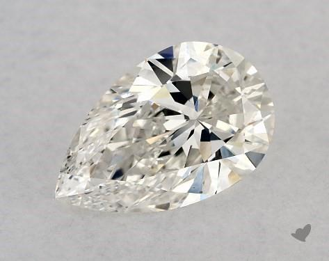 1.05 Carat H-VS2 Pear Shape Diamond