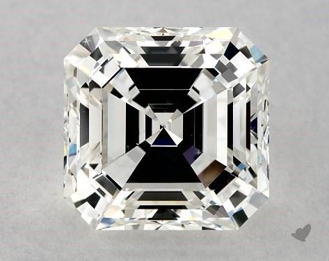2.01 Carat G-VS2 Square Emerald Cut Diamond