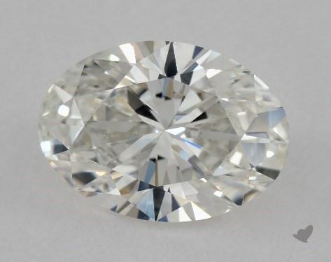 0.92 Carat H-VS1 Oval Cut Diamond
