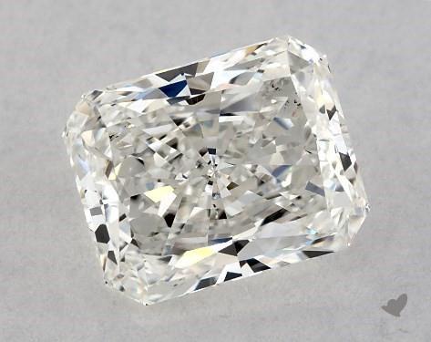 0.92 Carat H-VS2 Radiant Cut Diamond