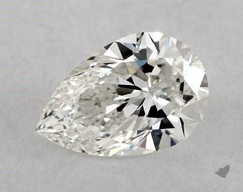 0.70 Carat H-VS2 Pear Shape Diamond