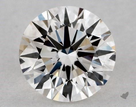 0.71 Carat H-VS2 Excellent Cut Round Diamond