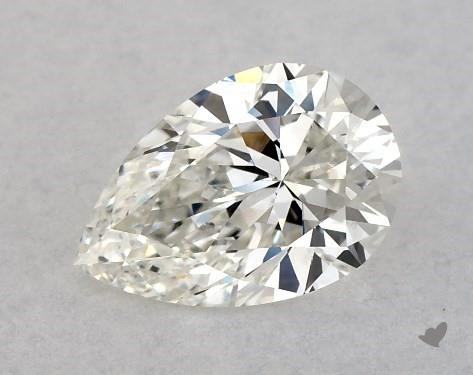 0.71 Carat H-VS1 Pear Shape Diamond