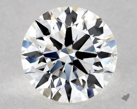 1.05 Carat F-SI2 True Hearts<sup>TM</sup> Ideal Diamond