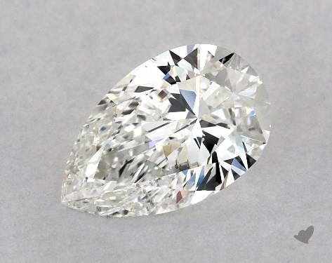 0.90 Carat H-VS2 Pear Shape Diamond