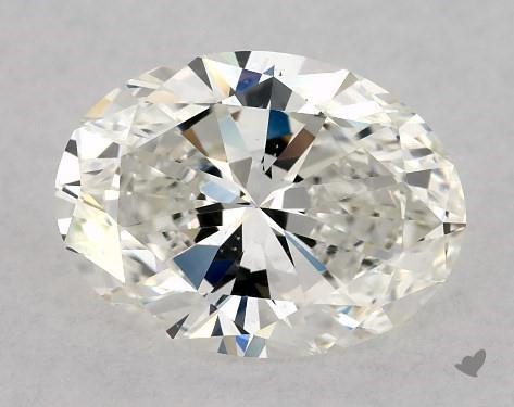 1.51 Carat H-VS2 Oval Cut Diamond