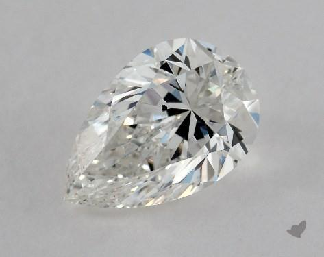 1.02 Carat H-SI1 Pear Shape Diamond