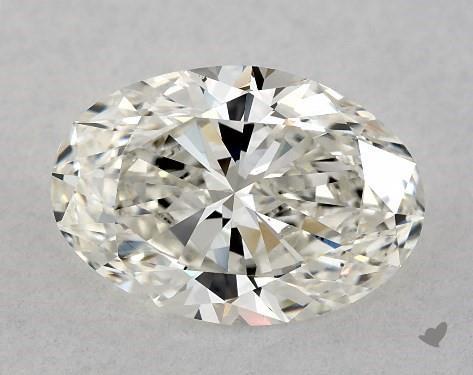 1.52 Carat H-VS2 Oval Cut Diamond