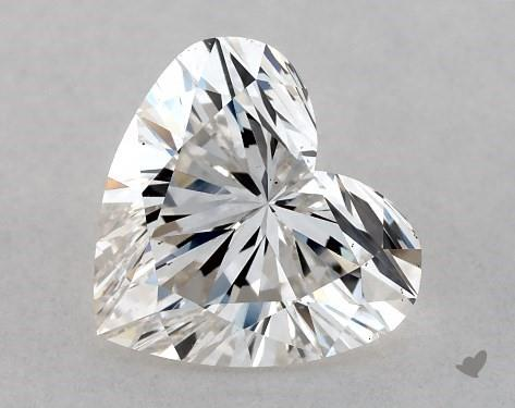 0.80 Carat H-VS2 Heart Shape Diamond