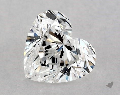 1.01 Carat E-SI1 Heart Shape Diamond