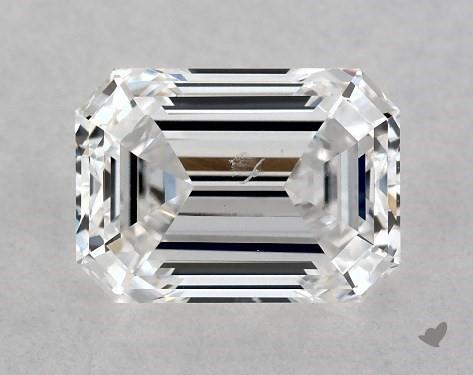 1.02 Carat D-SI1 Emerald Cut Diamond